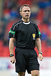 St Johnstone v Hearts…10.08.16..  McDiarmid Park…BetFred Cup<br />Referee Crawford Allan<br />Picture by Graeme Hart.<br />Copyright Perthshire Picture Agency<br />Tel: 01738 623350  Mobile: 07990 594431