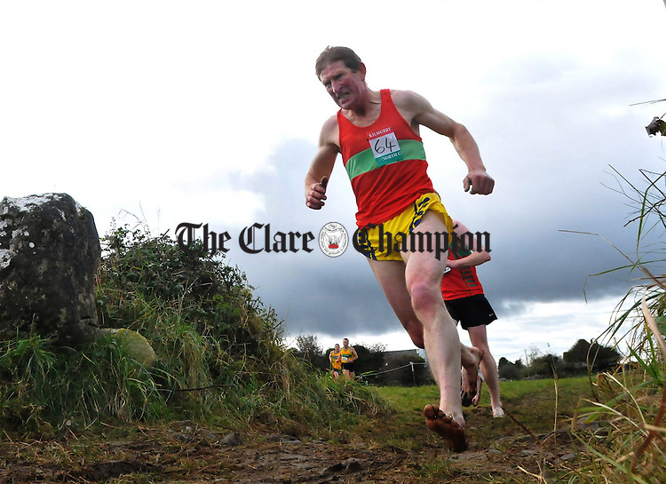 Tom Mackey from Kilmurray in action. Photograph by Declan Monaghan