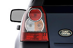 Tail light close up detail view of a 2009 Land Rover LR2 HSE