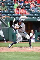 ***Temporary Unedited Reference File***Northwest Arkansas Naturals third baseman Mauricio Ramos (3) during a game against the Springfield Cardinals on April 27, 2016 at Hammons Field in Springfield, Missouri.  Springfield defeated Northwest Arkansas 8-1.  (Mike Janes/Four Seam Images)