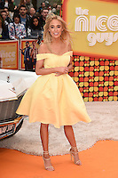 """Nicola Hughes<br /> arrives for the premiere of """"The Nice Guys"""" at the Odeon Leicester Square, London.<br /> <br /> <br /> ©Ash Knotek  D3120  19/05/2016"""