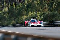 #708 GLICKENHAUS RACING - Glickenhaus 007 LMH: Luis Felipe Derani - Franck Mailleux - Olivier Pla - Gustavo Menezes, 24 Hours of Le Mans , Test Day, Circuit des 24 Heures, Le Mans, Pays da Loire, France