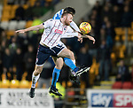 St Johnstone v Ross County…24.10.17…  McDiarmid Park…  SPFL<br />Craig Curran and Joe Shaughnessy<br />Picture by Graeme Hart. <br />Copyright Perthshire Picture Agency<br />Tel: 01738 623350  Mobile: 07990 594431