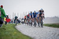 Stijn VANDENBERGH (BEL/AG2R-LaMondiale)<br /> <br /> 117th Paris-Roubaix 2019 (1.UWT)<br /> One day race from Compiègne to Roubaix (FRA/257km)<br /> <br /> ©kramon