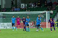 24th March 2021; HBF Park, Perth, Western Australia, Australia; A League Football, Perth Glory versus Sydney FC; Sydney's Paulo Retre controls the ball