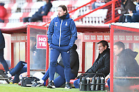 Bradford City AFC Manager Conor Sellars during Stevenage vs Bradford City, Sky Bet EFL League 2 Football at the Lamex Stadium on 5th April 2021