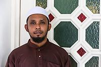 Young Malaysian Muslim Man, Ubudiah Mosque, Kuala Kangsar, Malaysia.