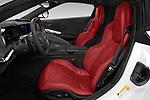 Front seat view of 2020 Chevrolet Corvette-Stingray 1LT 3 Door Targa Front Seat  car photos