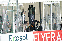 Marcel Halstenberg (Deutschland Germany), Antonio Rüdiger (Deutschland Germany) auf dem Fitness-Fahrrad/Ergometer - Seefeld 04.06.2021: Trainingslager der Deutschen Nationalmannschaft zur EM-Vorbereitung
