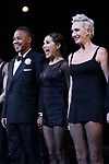 """Cuba Gooding Jr. returns to Broadway in """"Chicago"""" with Bianca Marroquin and Amra-Faye Wright on October 9, 2018 at the Ambassador Theatre in New York City."""