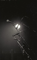 Stage light through microphones<br />