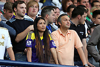 Pictured: Swansea supporters.<br /> Sunday 01 September 2013<br /> Re: Barclay's Premier League, West Bromwich Albion v Swansea City FC at The Hawthorns, Birmingham, UK.