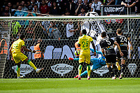 19th September  2021; Angers, Pays de la Loire, France; French League 1 football Angers versus Nantes;  Ludovic BLAS of Nanates takes and scores from a  penalty kick