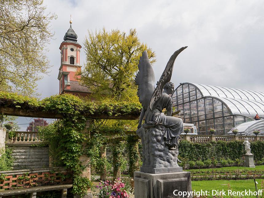 Brunnen, Bodensee - Insel Mainau, Baden-Württemberg, Deutschland, Europa<br /> Fountain, Isle of Mainau, Lake Constance, Baden-Württemberg, Germany, Europe