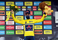 5th June 2021; La Plagne, Tarentaise, France;  PORTE Richie (AUS) of INEOS GRENADIERS podium stage 7 of the 73th edition of the 2021 Criterium du Dauphine Libere cycling race, a stage of 171km with start in Saint-Martin-Le-Vinoux and finish in La Plagne