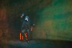 """Pase grafico de la obra de teatro """"La noche de Max Estrella"""", basada en la novela """"Luces de Bohemia"""" del escritor espanol Ramon Maria del Valle-Inclan, dirijida por Francisco Ortuno Millan e interpretada por Carlos Alvarez Novoa,que aparece en la imagen en un momento de la representacion..Pass chart the play """"The night Max Star"""" based on the novel """"Luces de Bohemia"""" Spanish writer Ramon Maria del Valle-Inclan, directed by Francisco Ortuno Millan and performed by Carlos Alvarez Novoa, who appears in the image at a time of representation..(Alterphotos/Ricky)"""