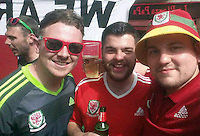 """Pictured: Lewys Prendergast (C) image taken from his open facebook account<br /> Re: This Swansea City fan has been forced to change his name after a Twitter bet spectacularly backfired following the Euro 2016 final on Sunday.<br /> Lewys Prendergast tweeted last night: """"If Eder scores the winner I'll honestly change my name to Robert Earnshaw. Not a f*****g chance.""""<br /> The post has been retweeted more than 5,500 times, and now the 21-year-old from Aberdare has been forced to stick to his word - after Eder sealed Portugal's victory over France after replacing Renato Sanchez in the 79th minute of Sunday's final."""