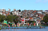 Favelas are seen in Salvador, Brazil, one of the 12 host cities for the 2014 FIFA World Cup