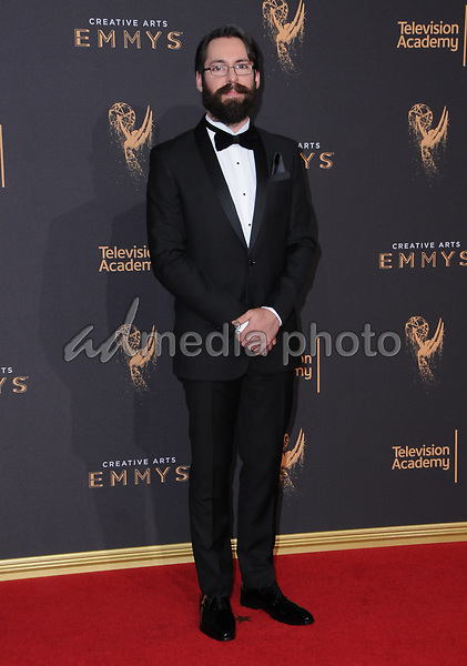 10 September  2017 - Los Angeles, California - Martin Star. 2017 Creative Arts Emmys - Arrivals held at Microsoft Theatre L.A. Live in Los Angeles. Photo Credit: Birdie Thompson/AdMedia