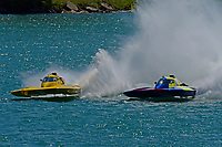 """Frame 18: Andrew Tate, H-300 """"Pennzoil"""", Donny Allen, H-14 """"Legacy 1""""       (H350 Hydro)"""