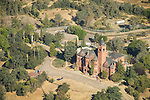 Preston Castle at the Preston School of Industry and Ione from the air, Amador County, Calif.