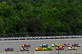 Monster Energy NASCAR Cup Series<br /> GEICO 500<br /> Talladega Superspeedway, Talladega, AL USA<br /> Sunday 7 May 2017<br /> Denny Hamlin, Joe Gibbs Racing, FedEx Express Toyota Camry and Kyle Busch, Joe Gibbs Racing, Skittles Red, White, & Blue Toyota Camry<br /> World Copyright: Nigel Kinrade<br /> LAT Images<br /> ref: Digital Image 17TAL1nk06016
