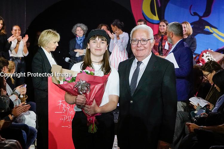 PRIX PUBLIC VILLE HYERES : WENDY ANDREU - REMISE DE PRIX AU 32E FESTIVAL INTERNATIONAL DE MODE ET DE PHOTOGRAPHIE 2017 A HYERES