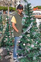 Tripoli, Libya - Holiday Market, Muhammad's Birthday Tree, Young Libyan Man