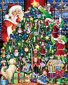 Randy, CHRISTMAS SANTA, SNOWMAN, WEIHNACHTSMÄNNER, SCHNEEMÄNNER, PAPÁ NOEL, MUÑECOS DE NIEVE, paintings+++++,USRW356,#x#