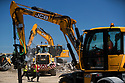 28/06/18<br /> <br /> JCB demonstrations and stand at Hillhead 2018 near Buxton, Derbyshire.<br /> <br /> All Rights Reserved: F Stop Press Ltd. +44(0)1335 344240  www.fstoppress.com www.rkpphotography.co.uk