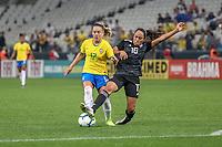 São Paulo (SP), 12/12/2019 - Brasil-México - Andressa, do Brasil durante partida amistosa contra o México, amistoso da Seleção Brasileira Feminina contra a Seleção do México, na Arena Corinthians, em São Paulo (SP), nesta quinta-feira (12).