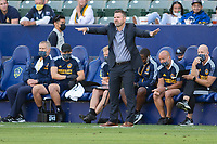 CARSON, CA - MAY 8: Greg Vanney Los Angeles Galaxy head coach during a game between Los Angeles FC and Los Angeles Galaxy at Dignity Health Sports Park on May 8, 2021 in Carson, California.