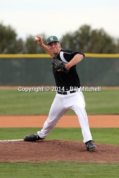 Brock Dykxhoorn - 2014 Central Arizona College Vaqueros (Bill Mitchell)