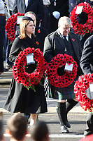 ***NO UK*** REF: MTX 193994 - Leader of the Liberal Democrats Jo Swinson and Leader of the Scottish National Party in the House of Commons Ian Blackford attend the annual Remembrance Sunday memorial at The Cenotaph in London, England.  NOVEMBER 10th 2019. Credit: Trevor Adams/Matrix/MediaPunch