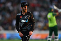 20th December 2020; Hamilton, New Zealand;  Kane Williamson,  New Zealand Black Caps versus Pakistan, International Twenty20 Cricket. Seddon Park, Hamilton, New Zealand.