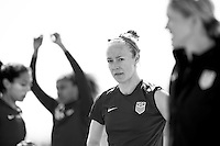 Orlando, FL - February 26, 2017: The USWNT trains in Orlando in preparation for the SheBelieves Cup.