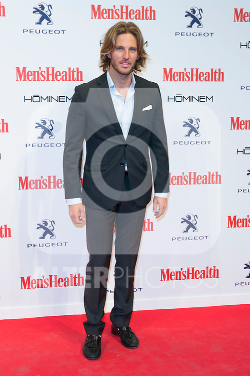 Alex Haffner attend the MENS HEALTH AWARDS at Goya Theatre in Madrid, Spain. October 28, 2014. (ALTERPHOTOS/Carlos Dafonte)