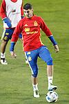 Spain's Alvaro Morata during training session. March 21,2016. (ALTERPHOTOS/Acero)