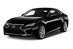 2019 Lexus RC RC 300h Executive 2 Door Coupe angular front stock photos of front three quarter view
