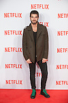 Alfonso Bassave attends Netflix presentation in Madrid, Spain. October 20, 2015. (ALTERPHOTOS/Victor Blanco)
