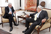 Australian Foreign Minister Kevin Rudd meets with former United States Secretary of State Dr Henry Kissinger at the Australian Consulate in New York. photo by Trevor Collens