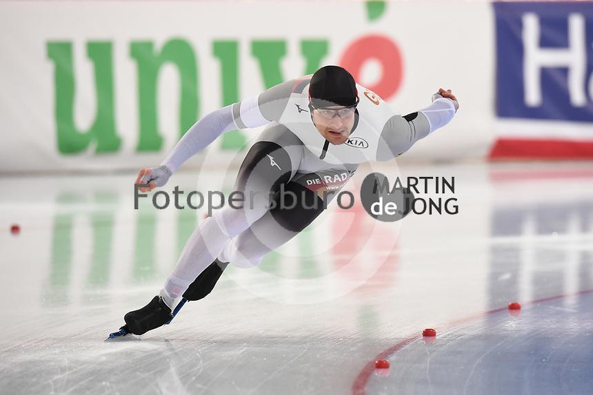 SPEED SKATING: HAMAR: Viking Skipet, 03-02-2019, ISU World Cup Speed Skating, Joel Dufter (GER), ©photo Martin de Jong