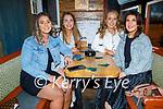 Enjoying the evening in Sean Og's on Saturday, l to r: Emma McCarthy (Tralee), Laura Ahern (Cork), Eimer Wrey (Cashel) and Lauren Creaney