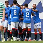 02.05.2121 Rangers v Celtic: Alfredo Morelos celebrates his goal