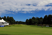 A general view of the 9th hole during the semi final round of the Aberdeen Asset Management Paul Lawrie Matchplay being played over the Fidra Links at Archerfield, East Lothian from 4th to 7th August 2016:  Picture Stuart Adams, www.golftourimages.com: 06/08/2016