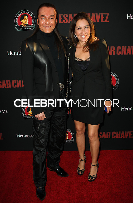 """HOLLYWOOD, LOS ANGELES, CA, USA - MARCH 20: Nick Chavez at the Los Angeles Premiere Of Pantelion Films And Participant Media's """"Cesar Chavez"""" held at TCL Chinese Theatre on March 20, 2014 in Hollywood, Los Angeles, California, United States. (Photo by Celebrity Monitor)"""