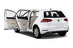 Car images close up view of a 2019 Volkswagen Golf S 5 Door Hatchback doors