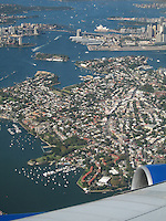 Flying over Sydney Opera House & Harbour