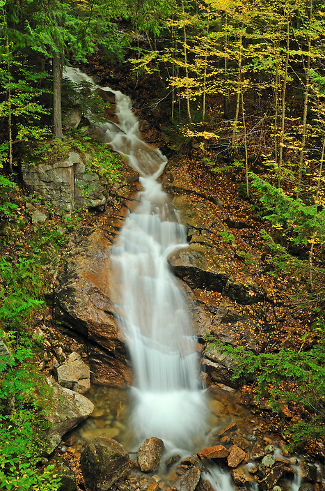 Liberty Cascade is another great reason to take the tour of the Flume Gorge in Franconia Notch State Park. Along with seeing Avalanche Falls you get to see Liberty Cascade, making for a waterfall two-for-one !