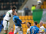 St Johnstone v Celtic.....14.02.15<br /> Steven Anderson's header is straight at Craig Gordon<br /> Picture by Graeme Hart.<br /> Copyright Perthshire Picture Agency<br /> Tel: 01738 623350  Mobile: 07990 594431